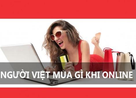Người việt thích mua gì online