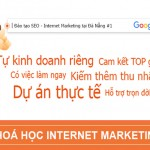 Khóa Học Internet Marketing, Marketing Online tại Đà Nẵng