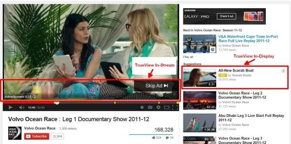 quảng cáo video google