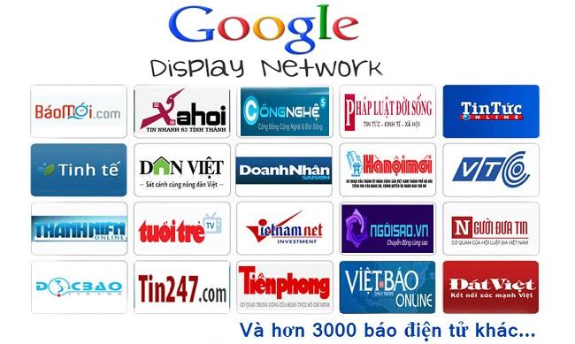quảng cáo chỉ mạng hiển thị
