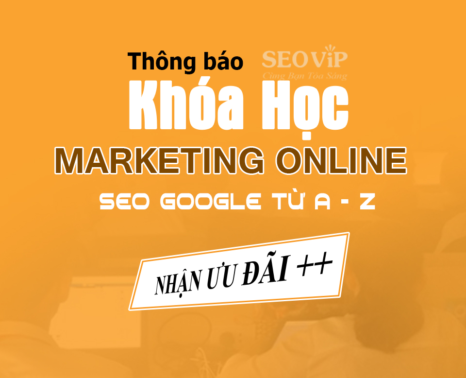 Khóa học SEO Marketing Online