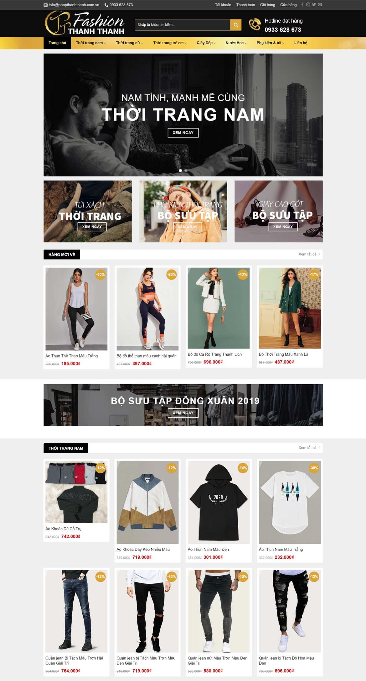 Thiết kế website bán hàng đẹp mắt, thân thiện với người dùng