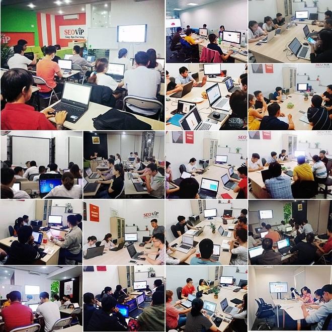 Lớp đào tạo SEO tại SEOViP Academy