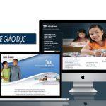 Thiết Kế Website Giáo Dục Trường Học Chuyên Nghiệp