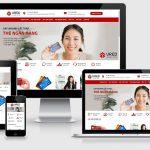 Thiết website Ngân hàng, tín dụng, thế chấp uy tín