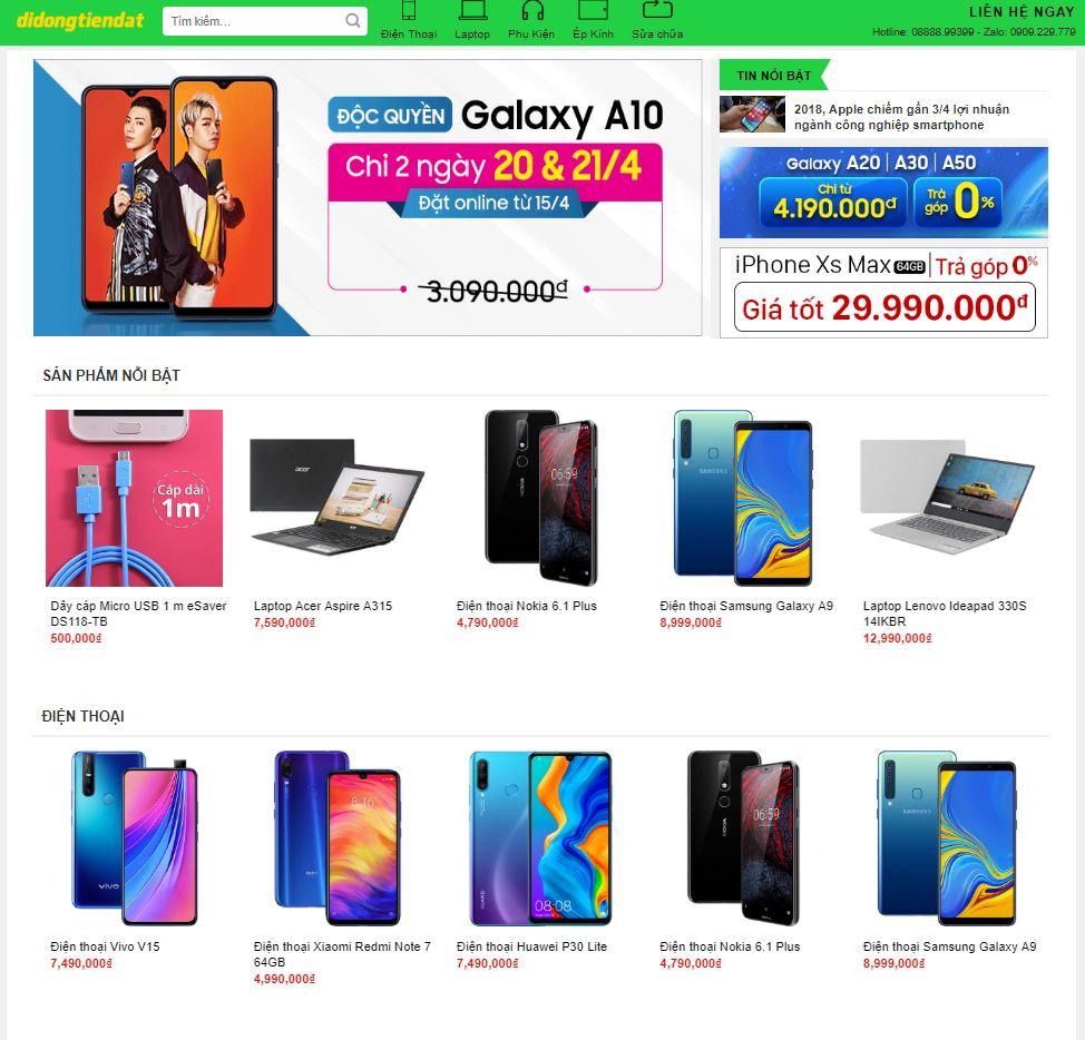 Tại sao nên lựa chọn Seovip để thiết kế website Linh kiện máy tính, mua bán sửa chữa điện thoại