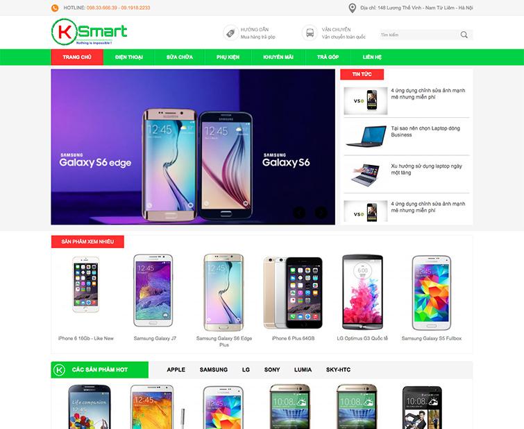 Chính sách hậu mãi khi thiết kế website Linh kiện máy tính, mua bán sửa chữa điện thoại tại SEOVIP